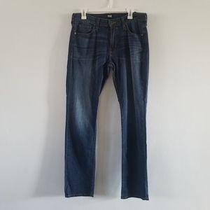 PAIGE Federal Eric dark wash slim fit jeans 32x33